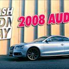 2008 Audi S5 Wash + Drive   WASHWEDNESDAY