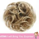 Synthetic Messy Elastic Hair for Women - 6T88 / China