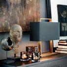 Dekoration auf Kommode   Tischleuchte   Dekoration Inspiration