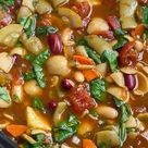 Minestrone Soup Slow Cooker