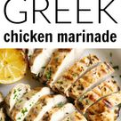 The Best Greek Chicken Marinade - The Forked Spoon