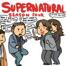 Season Four Dean I brought you back to stop Lucifer from rising. and your Bro is dumb. I don't work for angels! Dude you should try some demon blood. I'm his real wife. ✪ #SPN