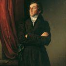 Friedrich von Amerling, 1831 - The painter Robert tar - fine art print - Poster print (canvas paper) / 30x40cm - 12x16