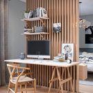 Ideas de decoración: La madera también puede ser el toque original de tu casa
