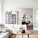 Skandinavische Möbel im Wohnzimmer   inspirierende Einrichtungsideen
