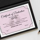 Baby Dedication Certificate Template | Boy or Girl | Instant download | Print at home | Gift | Baptism | Dedication to the Lord