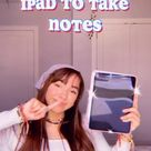 How I use my ipad to take notes in college! ★