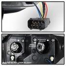 Spyder BMW Z4 03 08 Projector Headlights Halogen Model Only   LED Halo Black PRO YD BMWZ403 HL BK