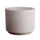 Northcote Pottery 25cm Greige Italian Terracotta Cylinder Pot