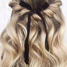 Gorgeous Half up hairstyles   45 Stylish Ideas
