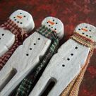 Christmas Clothespin Crafts