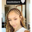 Hair Inspo for the summer 🤍