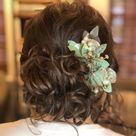 Eucalyptus hair comb greenery baby breath comb succulent hair | Etsy