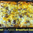 Best Breakfast Casserole