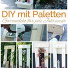 Basteln mit Twercs   DIY mit Paletten Gartendeko ⋆ einfach Stephie