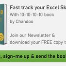 Subscribe to our FREE Excel Tips Newsletter & Get bonus ebook » Chandoo.org   Learn Excel, Power BI & Charting Online