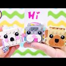 Lego Dots Animal Picture Holders Build & Review Craft DIY - these are crazy adorable!