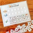 Kids Daily Responsibilities Chart Printable Daily Routine   Etsy