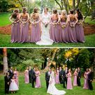 Mauve Wedding