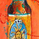 Oberon Beer Art Print  Original Watercolor  Archival or Kodak   Etsy