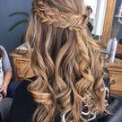 20 Brilliant Half Up Half Down Wedding Hairstyles for 2021 - EmmaLovesWeddings