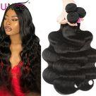 eBay Brazilian Body Wave 100 Human Hair Extensions 2 Bundles/200g Virgin Hair Weaves