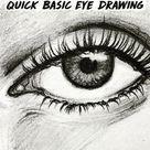 Quick Basic Eye Drawing