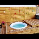 Make a Floating Deck for an Inflatable SPA, With a Motorized Cover.