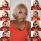 Buy Your Wig Hair Brooke Blonde | Cambodian Raw Hair Lace Closure Wig | Summer Bob