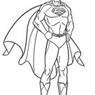 Superman Coloring Page for Kids