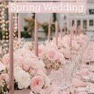 Romantic Pink Spring Wedding