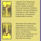 Suit of Pentacles Flashcards - Tarot Study Tools