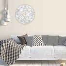 Kreatives Muster Steinwanduhr Acryl Wohnzimmer Dekoration BBZ210428006