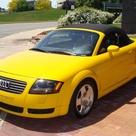 2002 AUDI TT 1.8T IMOLA YELLOW ROADSTER ONLY $12999...