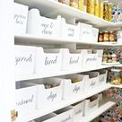 Modern Ranch Reno: Pantry Organization Ideas (Pantry Makeover) - Classy Clutter