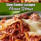 Slow Cooker Lasagna Pioneer Woman
