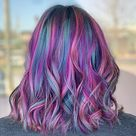 23 Incredible Examples of Blue and Purple Hair in 2021