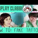 Cosplay Skills: Custom Temporary Tattoos | Make: