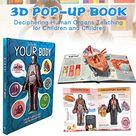 12.01€ 30 de DESCUENTO Libro de lectura cognitiva para niños, cuaderno de Ciencia de Anatomía de la estructura del cuerpo humano, imagen 3D, libros educativos para edades tempranas, juguetes para niños        AliExpress