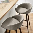 Sylvan Swivel Counter Stool in Fabric - Modern Dining Room & Kitchen Furniture - Room & Board