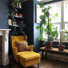 STRANDMON Skiftebo yellow, Footstool   IKEA