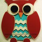 Owl Door Hangers