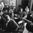 Circa 1958: Poetry reading in NYC