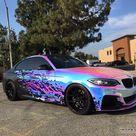 BMW M235i getting a Rainbow Chrome Wrap