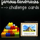 STEM Challenge Build Famous Landmarks Distance Learning