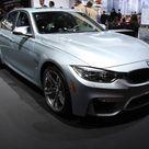 2014 NYIAS BMW M3 Sedan in Silverstone Metallic