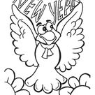 Happy New Year Coloring Pages - Best Coloring Pages For Kids