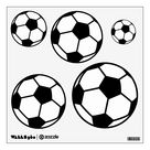 Soccer ball wall decals for sports theme bedroom | Zazzle.com