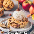 Mini Apple Pies (Vegane Apfel-Küchlein)