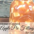 Homemade Apple Pie Filling Recipe - For Canning!   The Frugal Farm Wife